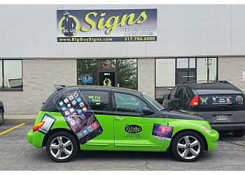 Indianapolis sign company Big Guy Signs