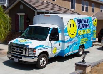 Riverside plumber Big John's Plumbing