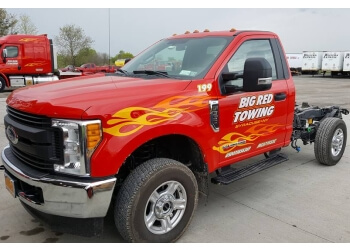Syracuse towing company Big Red Towing