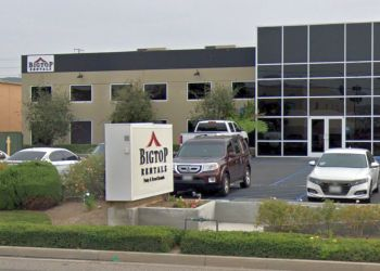 Anaheim rental company Big Top Rentals
