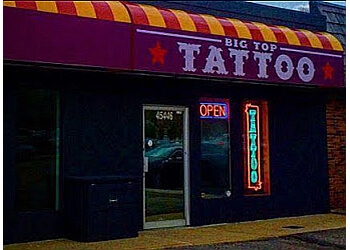 Sterling Heights tattoo shop Big Top Tattoo LLC