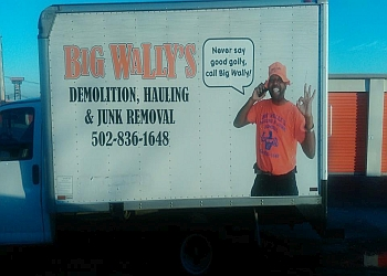 Louisville junk removal Big Wally's Hauling and Junk Removal