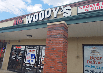 Allentown sports bar Big Woody's Sports Bar & Restaurant