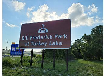 Orlando hiking trail Bill Frederick Park