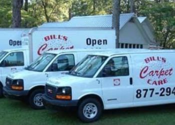 Tallahassee carpet cleaner Bill's Carpet Care