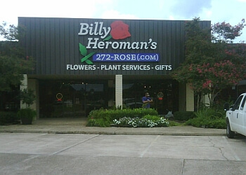 Baton Rouge florist Billy Heroman's