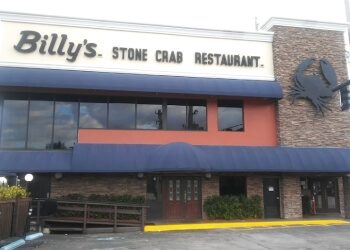 Hollywood seafood restaurant Billy's Stone Crab Hollywood