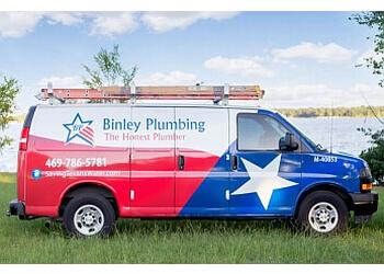 Garland plumber Binley Plumbing Inc.