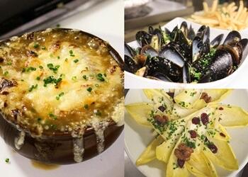 Pasadena french restaurant Bistro De La Gare