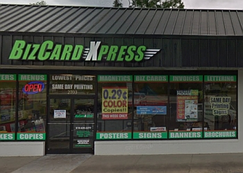 Fayetteville printing service  BizCard Xpress
