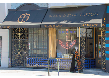 San Francisco tattoo shop Black & Blue Tattoo