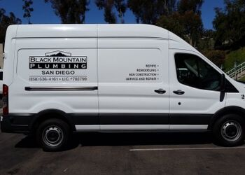 San Diego plumber Black Mountain Plumbing, Inc.