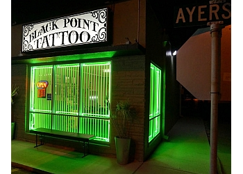 Corpus Christi tattoo shop Black Point Tattoo