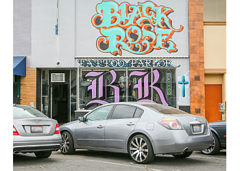 Stockton tattoo shop Black Rose Tattoo Parlor