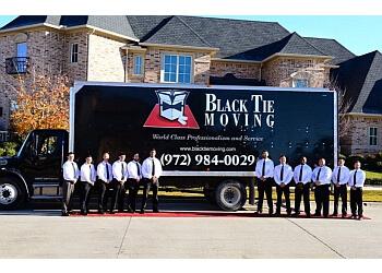 Carrollton moving company Black Tie Moving of Dallas