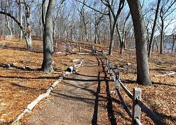 Providence hiking trail Blackstone Park Trail