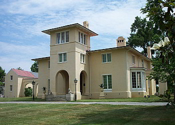 Greensboro landmark Blandwood Mansion and Gardens