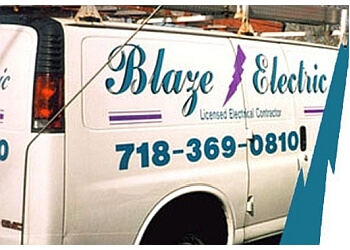 New York electrician Blaze Electric, Inc.