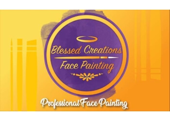 Coral Springs face painting Blessed Creations Face Painting