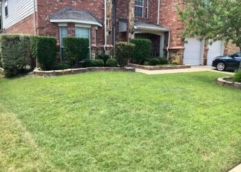 Arlington lawn care service Blessit Lawn Service