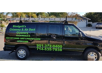 Riverside chimney sweep Blodgett's Cleaning Services