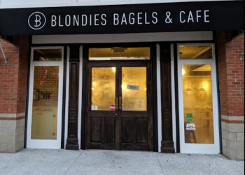 Charleston bagel shop Blondies Bagels & Cafe