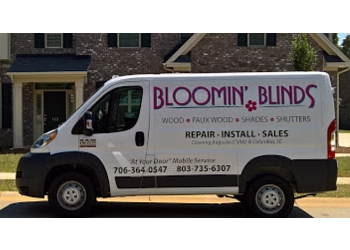 Augusta window treatment store Bloomin' Blinds of Augusta