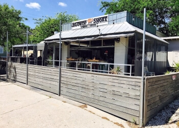 Savannah barbecue restaurant Blowin' Smoke Southern Cantina