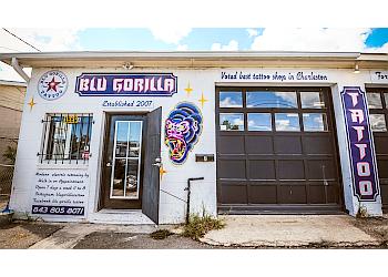 Charleston tattoo shop Blu Gorilla Tattoo