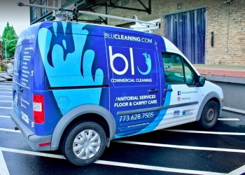 Chicago commercial cleaning service Blu commercial Cleaning