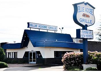 Blue Adobe Grille
