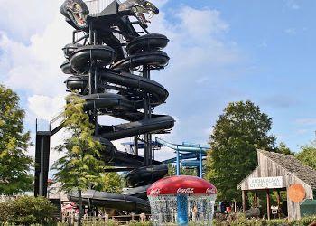 Baton Rouge amusement park Blue Bayou Water Park And Dixie Landin'