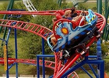 Baton Rouge amusement park Blue Bayou and Dixie Landin'