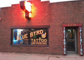 Dayton tattoo shop Blue Byrd Tattoo