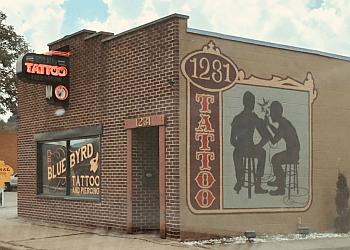 Dayton tattoo shop Blue Byrd Tattoo