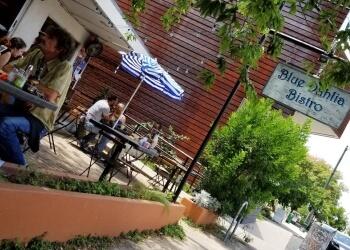 Austin french restaurant Blue Dahlia Bistro