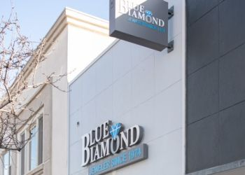 Long Beach jewelry Blue Diamond Jeweler