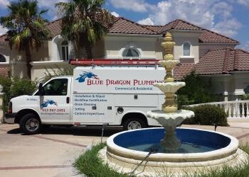 Austin plumber Blue Dragon Plumbing, LLC