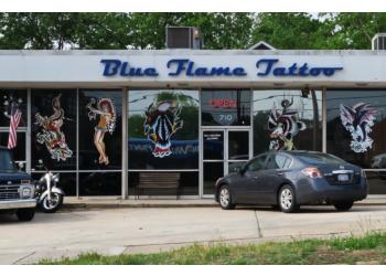 Raleigh tattoo shop Blue Flame Tattoo