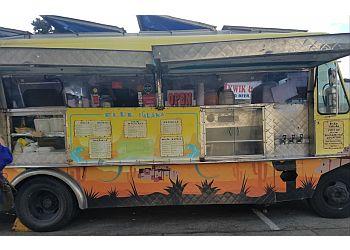San Francisco food truck Blue Iguana Taco Truck