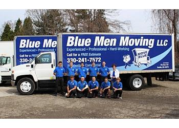 Akron moving company Blue Men Moving LLC