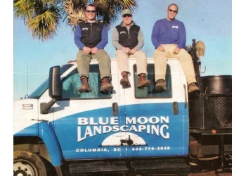 Columbia landscaping company Blue Moon Landscaping