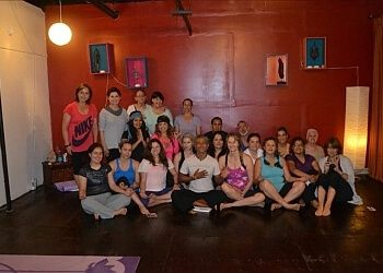 Brownsville yoga studio Blue Moon Yoga Center