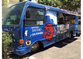 Honolulu food truck Blue Ocean Seafood & Steak