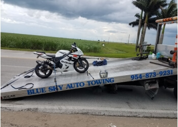 Fort Lauderdale towing company Blue Sky Auto Towing