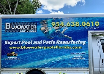 Pompano Beach pool service Blue Water Pools