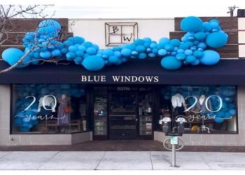 Long Beach gift shop Blue Windows