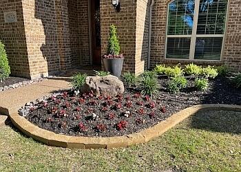 Plano landscaping company Bluebonnet Landscape Creations