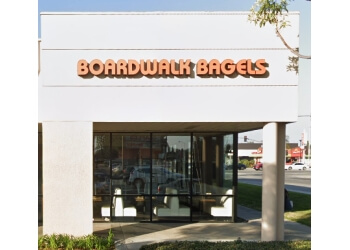 Garden Grove bagel shop Boardwalk Bagels