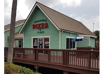 Clearwater pizza place Boardwalk Pizza & Gyros